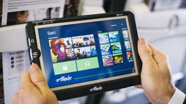 SKYCAST SOLUTIONS LAUNCHES NEXT GENERATION INFLIGHT ENTERTAINMENT TABLET WITH ALASKA AIRLINES